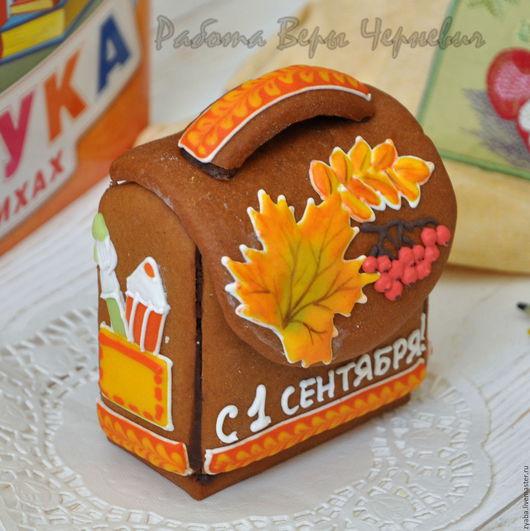 Кулинарные сувениры ручной работы. Ярмарка Мастеров - ручная работа. Купить Осенний школьный ранец (рюкзак) - оригинальный подарок школьнику. Handmade.