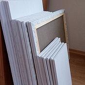 Материалы для творчества handmade. Livemaster - original item Canvas on stretcher dimensions 50/60; 50/70. Handmade.