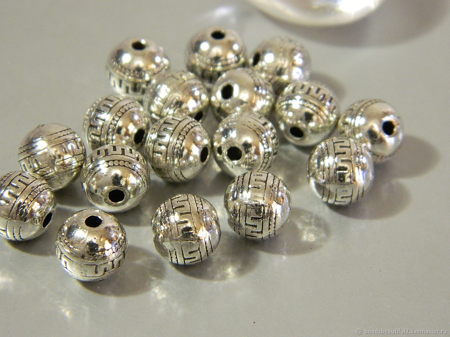 Separation beads for jewelry, 9 mm. ( B09), Beads1, Saratov,  Фото №1