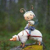 Куклы и игрушки ручной работы. Ярмарка Мастеров - ручная работа Сказочное путешествие. Handmade.