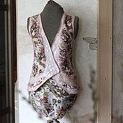 Одежда ручной работы. Ярмарка Мастеров - ручная работа Жилет валяный После дождя. Handmade.