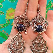 Украшения handmade. Livemaster - original item 108 Earrings silver