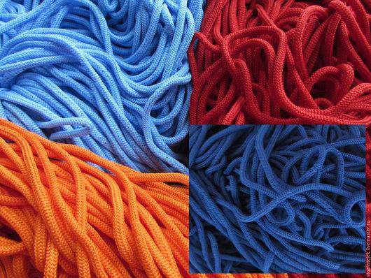 Шитье ручной работы. Ярмарка Мастеров - ручная работа. Купить Шнур для одежды 17 цветов. Handmade. Шнур для одежды, алый