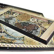 Нарды, шашки ручной работы. Ярмарка Мастеров - ручная работа Эксклюзивные нарды MAP (серия S). Handmade.