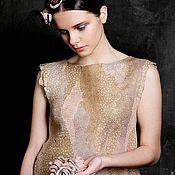 Платья ручной работы. Ярмарка Мастеров - ручная работа Валяное платье «Сон чибиса». Handmade.