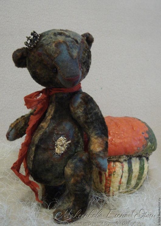 Мишки Тедди ручной работы. Ярмарка Мастеров - ручная работа. Купить Чарли. Handmade. Темно-серый, Плюшевый мишка, мишка