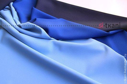 Габардин голубой, электрик, темно-синий.В наличии 26 цветов!!! Производство: Китай FUHUA (производится на экспорт для Англии и Японии).