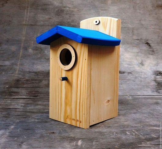Деревянный скворечник для птиц