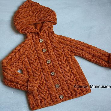 Одежда ручной работы. Ярмарка Мастеров - ручная работа Кофта Бухара на рост 92- 98. Handmade.