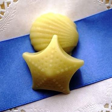 Косметика ручной работы. Ярмарка Мастеров - ручная работа Твердый бальзам для волос с маслом бабасу и конопли. Handmade.