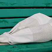 """Сумки и аксессуары ручной работы. Ярмарка Мастеров - ручная работа Джинсовый рюкзак """"Индио Натур"""" (вставка с полоской). Handmade."""