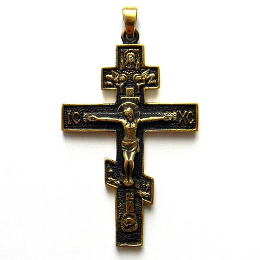 """Кулоны, подвески ручной работы. Ярмарка Мастеров - ручная работа. Купить Кулон """"Православный крест"""" (2). Handmade. Крест, символ"""