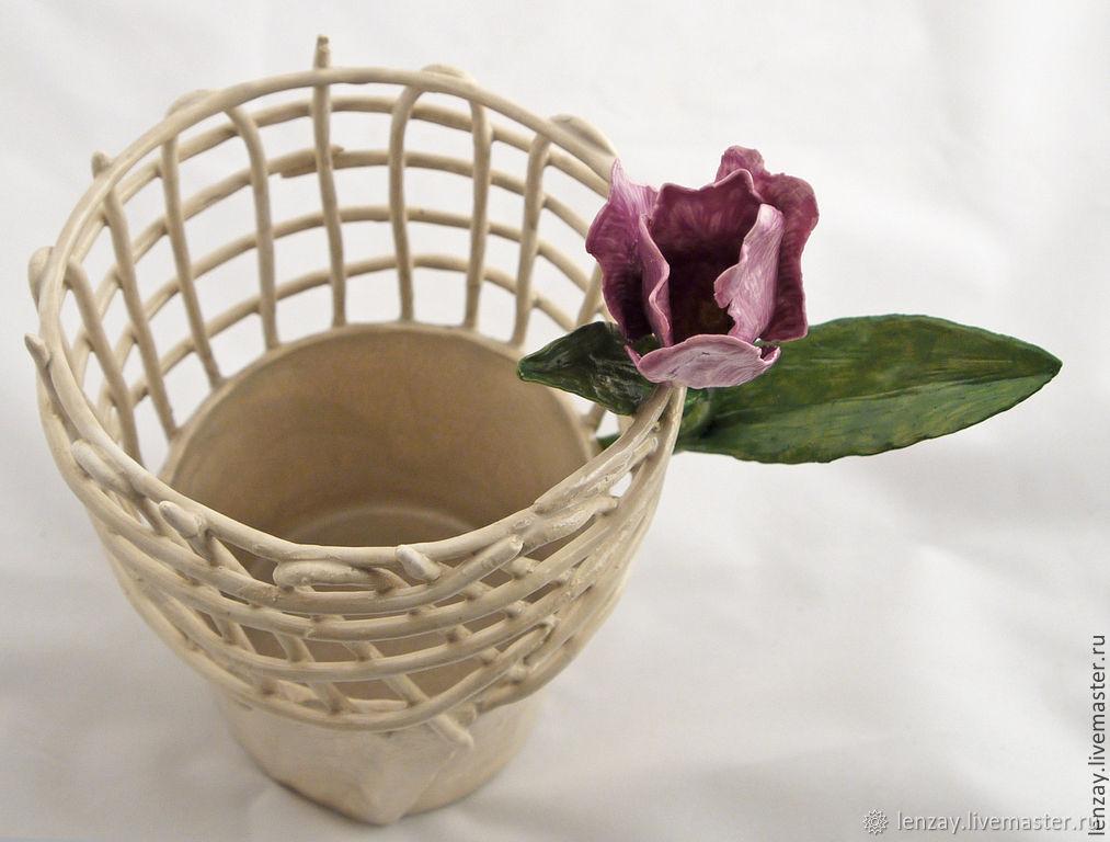 Ваза Тюльпан. Керамика