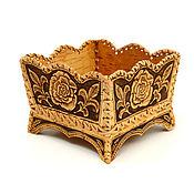 Посуда handmade. Livemaster - original item The candy bowl from birch bark