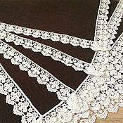 handmade. Livemaster - original item Napkin linen-serving