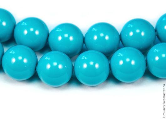 Для украшений ручной работы. Ярмарка Мастеров - ручная работа. Купить 10мм Turquoise Жемчуг Сваровски Swarovski Perl 5 шт. Handmade.
