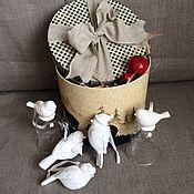 Подарки к праздникам ручной работы. Ярмарка Мастеров - ручная работа Набор елочных игрушек N2. Handmade.