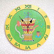 Для дома и интерьера handmade. Livemaster - original item Wall clock Kettle decorative clock handmade in the kitchen. Handmade.