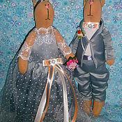 Куклы и игрушки ручной работы. Ярмарка Мастеров - ручная работа ТИЛЬДЫ ЗАЙЧИКИ. Handmade.