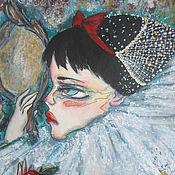 Картины и панно ручной работы. Ярмарка Мастеров - ручная работа Зеркало, зеркало.... Handmade.