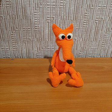 Куклы и игрушки ручной работы. Ярмарка Мастеров - ручная работа Игрушки: лисенок. Handmade.