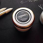 Материалы для творчества ручной работы. Ярмарка Мастеров - ручная работа Белая тушь для каллиграфии. Handmade.