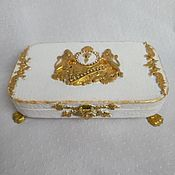 Для дома и интерьера handmade. Livemaster - original item Golden lion banknote box