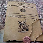 Свадебный салон handmade. Livemaster - original item Alice in Wonderland wedding invitation. Handmade.