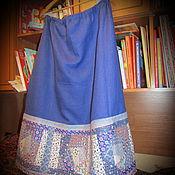 Одежда ручной работы. Ярмарка Мастеров - ручная работа Лоскутная юбка. Handmade.