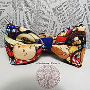 Аксессуары handmade. Livemaster - original item Tie No. №730 Cowboys/ classic style. Handmade.
