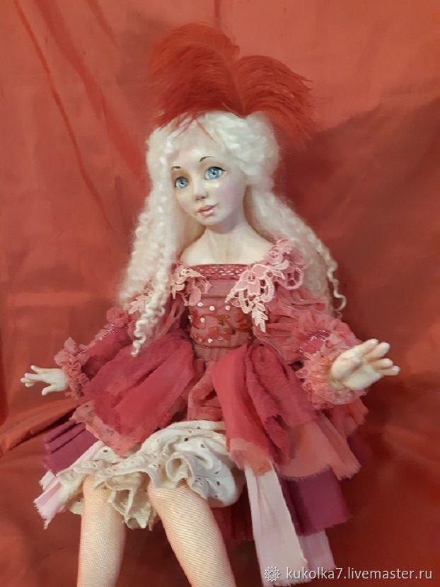 """Мастер-класс онлайн по Авторской кукле """"Тиона"""", Будуарная кукла, Раменское,  Фото №1"""