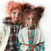 """Куклы и пупсы ручной работы. Ярмарка Мастеров - ручная работа """"Сестренки"""". Handmade."""