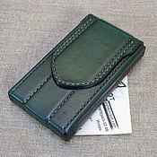 Сувениры и подарки handmade. Livemaster - original item Green cigarette Case for Thin (Slims) cigarettes. Handmade.