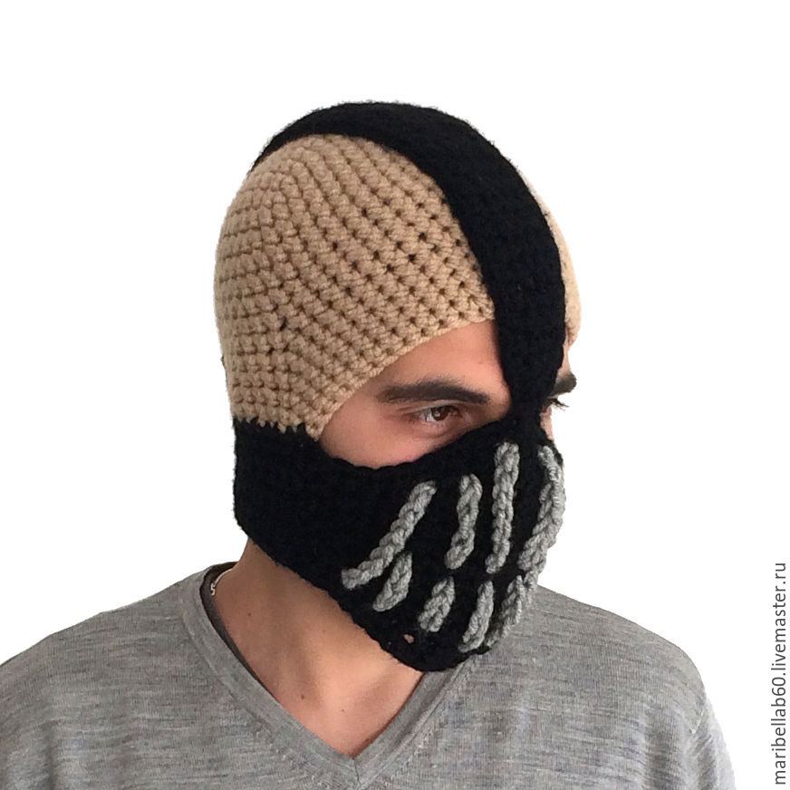 47e174c8fed Jumpsuits handmade. Livemaster - handmade. Buy Hat mens knitted. Winter hat.  Gift Jumpsuits handmade.