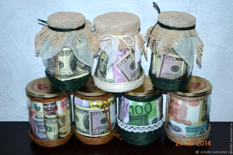 Деньги в банках  подарки, Подарочные боксы, Всеволожск,  Фото №1