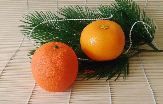 Материалы для флористики ручной работы. Ярмарка Мастеров - ручная работа. Купить Мандарины и апельсины. Handmade. Фрукты, фрукты овощи, мандарины