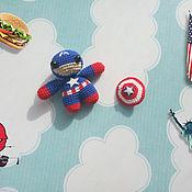 Куклы и игрушки ручной работы. Ярмарка Мастеров - ручная работа Амигуруми Супергерои. Handmade.