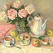 Картины и панно handmade. Livemaster - original item Oil painting still life