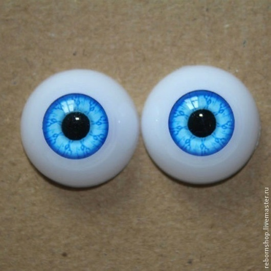"""Куклы и игрушки ручной работы. Ярмарка Мастеров - ручная работа. Купить Глаза """"живой взгляд""""  для кукол. Handmade. Глаза, акриловые"""