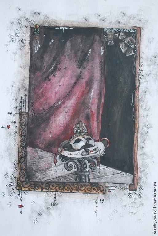 Маска ( серия `Театр`) автор Тася Быковски