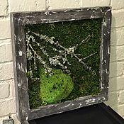 Картины и панно ручной работы. Ярмарка Мастеров - ручная работа Экокартина в стиле Лофт №1. Handmade.