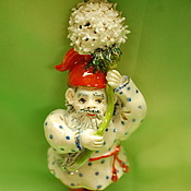 Для дома и интерьера handmade. Livemaster - original item A dwarf flying on a dandelion.. Handmade.