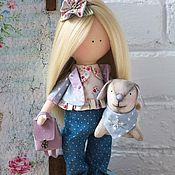 Для дома и интерьера ручной работы. Ярмарка Мастеров - ручная работа Текстильная кукла. Handmade.