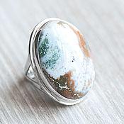 Украшения handmade. Livemaster - original item Jasper ring (940). Handmade.