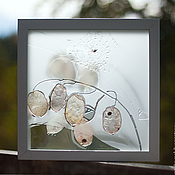 Картины и панно ручной работы. Ярмарка Мастеров - ручная работа Хрупкая паутинка на исходе лета.. Handmade.