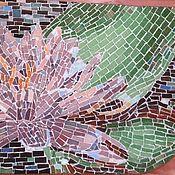 """Для дома и интерьера ручной работы. Ярмарка Мастеров - ручная работа Навесная консоль """"На пруду"""", мозаика. Handmade."""