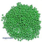 Материалы для творчества handmade. Livemaster - original item 10 grams of 10/0 seed Beads, Czech Preciosa 53233 Premium. Handmade.
