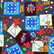 """Материалы для творчества ручной работы. Ярмарка Мастеров - ручная работа Плащевка Оксфорд """"Геометрия"""". Handmade."""