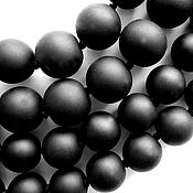 Материалы для творчества ручной работы. Ярмарка Мастеров - ручная работа Шунгит матовый шар. Handmade.