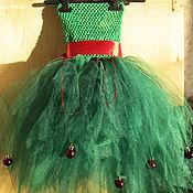 """Одежда ручной работы. Ярмарка Мастеров - ручная работа новогодний костюм """"Ёлочка"""" (платье туту). Handmade."""